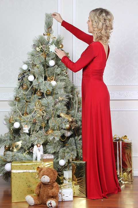 karácsonyi nőiesség